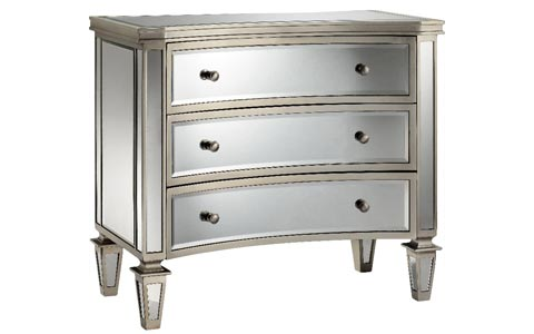Abruzzo Bow Mirrored Chest