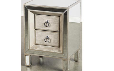 Cassidy 2 Drawer Nightstand