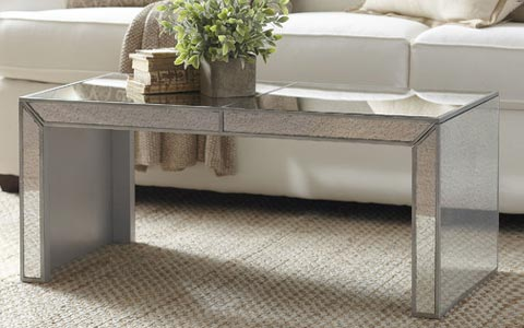 Elliott Mirrored Coffee Table