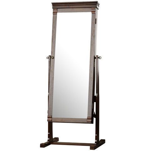 Aldridge mirrored armoire