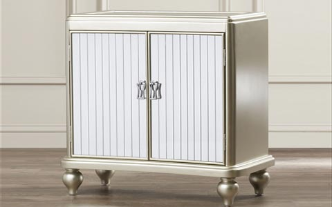 Bacall mirrored cabinet