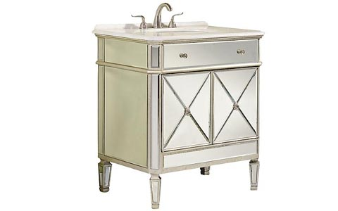 Camille mirrored vanity