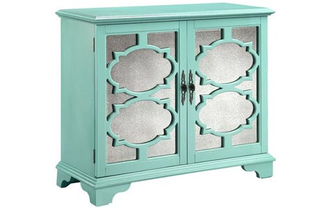 Candice mirrored cabinet