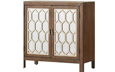 Coquina mirrored chest