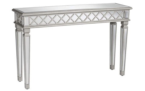 Diovanne mirrored console table