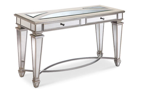 Eglise mirrored console table