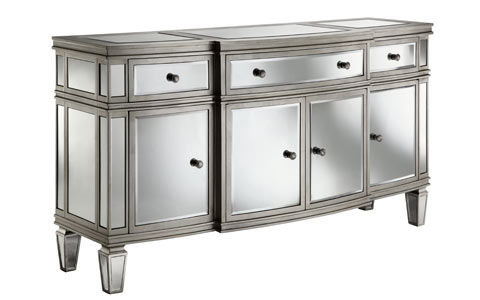 Gabrielle mirrored sideboard