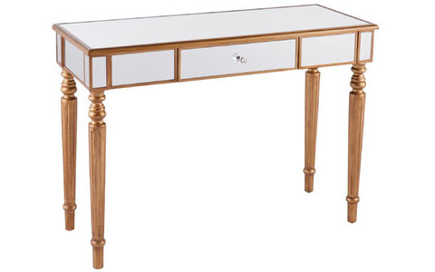 Huxley mirrored console table