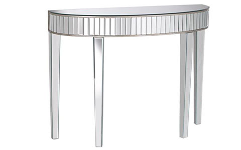 Liska mirrored console table