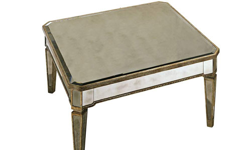 Marietta mirrored cocktail table
