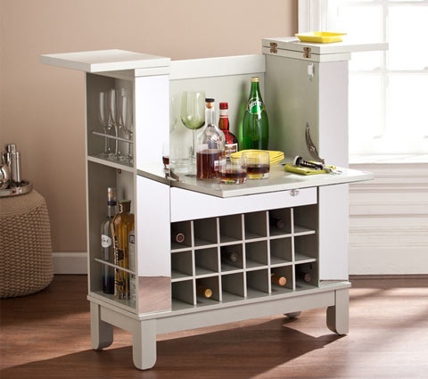Martindell mirrored bar