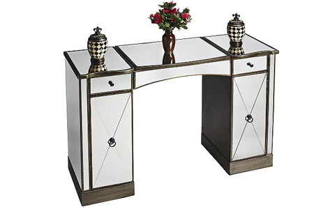 Masterpiece Glitz mirrored vanity