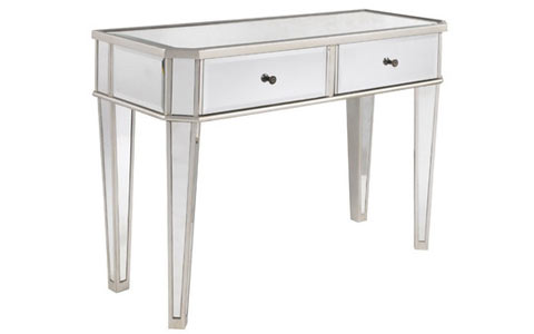Matteo mirrored console table