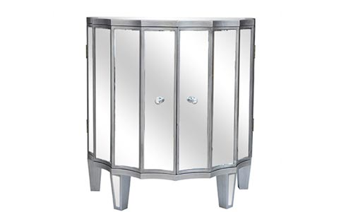 Millenium mirrored cabinet