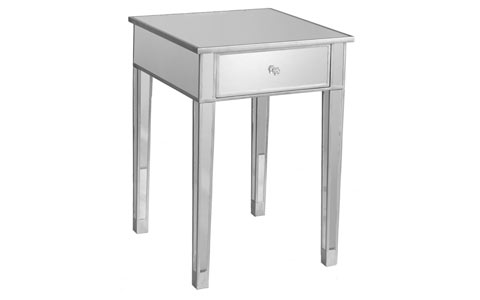 Miragea mirrored accent table