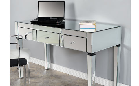 Miro mirrored desk