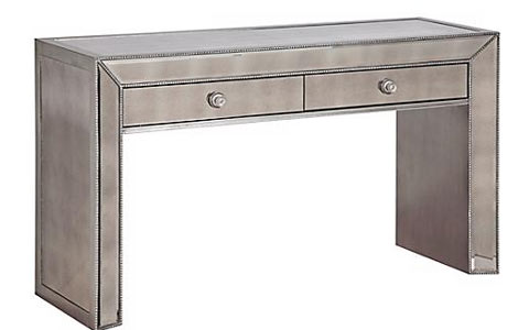 Murano mirrored console table
