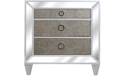 Ponti 3 Drawer Nightstand