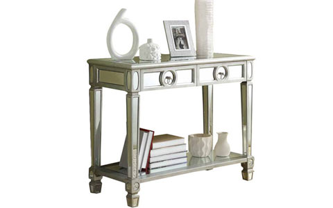 Ripley mirrored console table