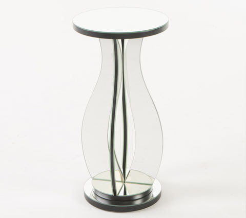 Sena mirrored side table