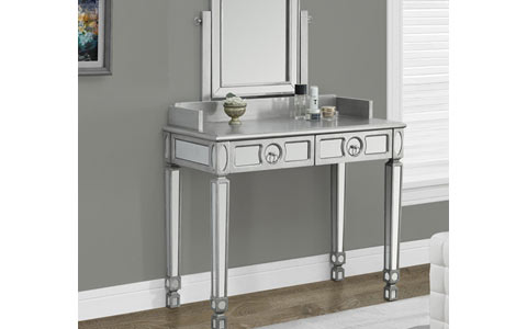 Stanley mirrored vanity