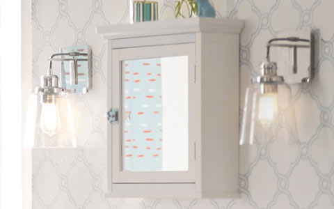 Sumter mirrored medicine cabinet
