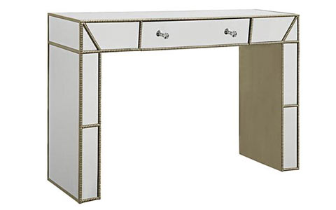 Trevi mirrored console table