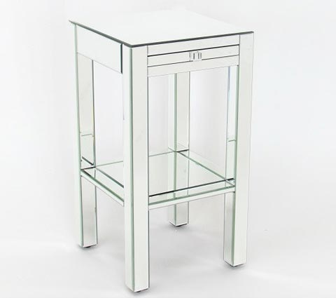 Wayborn mirrored end table