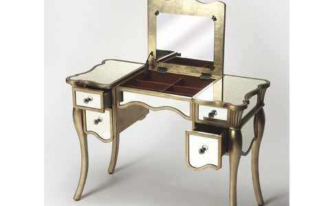 Winterville mirrored vanity